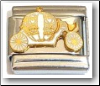 Princess Carriage Italian Charm
