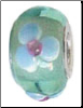 Gorgeous Periwinkle Flower Bead