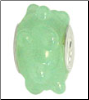 Jade Dots Glass Bead