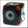 Dice Glass Cube Bead